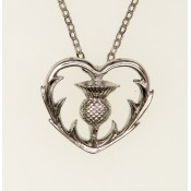 Thistle Heart Pendant  128