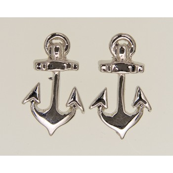 Black Isle Anchor Earrings  195