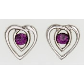 Celtic Heart Earrings  196