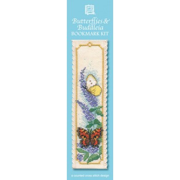 Butterflies & Buddleia Bookmark