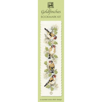 Goldfinches Bookmark