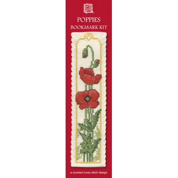 Poppies Bookmark
