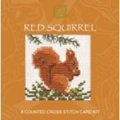Red Squirrel Miniature Card