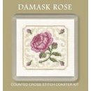 Damask Rose Coaster
