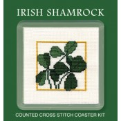 Irish Shamrock Coaster