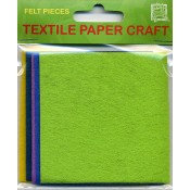 Craft Felt Squares (Pack of 5)