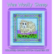 Wee Woolly Sheep Coaster