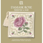 Damask Rose Needle Case