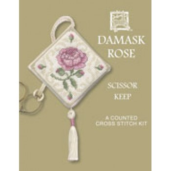 Damask Rose Scissor Keep