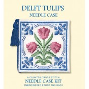 Delft Tulips Needle Case