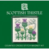 Scottish Thistle Fridge Magnet