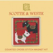 Scottie & Westie Fridge Magnet