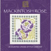 Mackintosh Rose Miniature Card