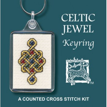 Celtic Jewel Keyring
