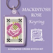 Mackintosh Rose Keyring