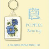 Poppies Keyring