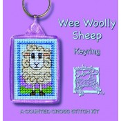 Wee Woolly Sheep Keyring