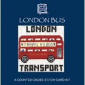 London Bus Miniature Card