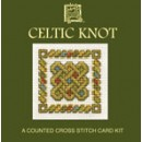Celtic Knot Miniature Card