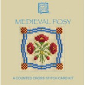 Medieval Posy Miniature Card