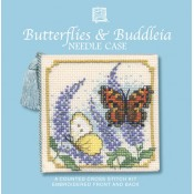 Butterflies & Buddleia Needle Case