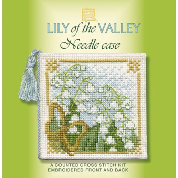 Lily of the Valley Needle Case