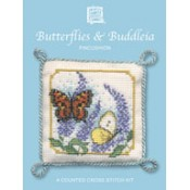 Butterflies & Buddleia Pincushion