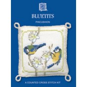 Bluetits Pincushion