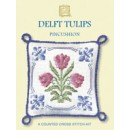 Delft Tulips Pincushion
