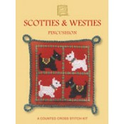 Scotties & Westies Pincushion