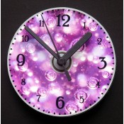 Bubbles CD Clock