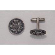 Thistle Cufflinks Antique  112 Ant