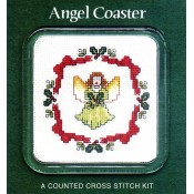 Christmas Angel Coaster