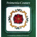 Christmas Poinsettia Coaster