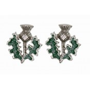 Scottish Thistle Earrings  124