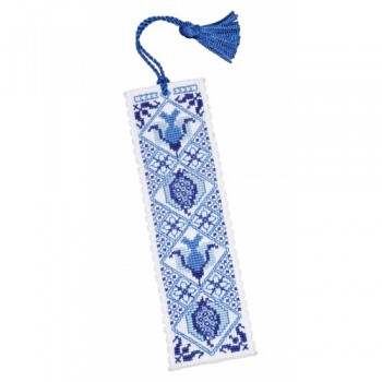 Delft Blue Bookmark