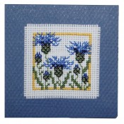 Cornflowers Keepsake Card