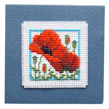 Poppies Keepsake Card