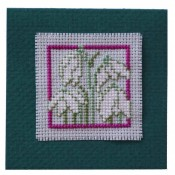 Snowdrops Keepsake Card