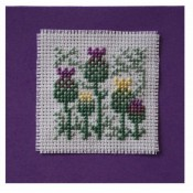 Scottish Thistle Keepsake Card