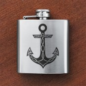 Anchor Sporran Flask