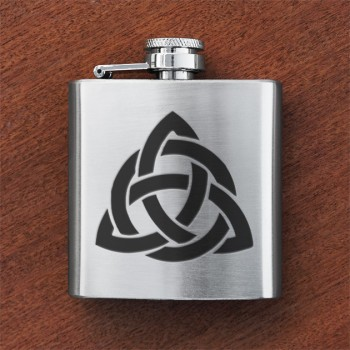 Celtic Interlace Sporran Flask