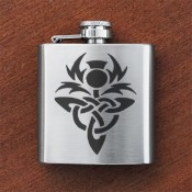 Celtic Thistle Sporran Flask