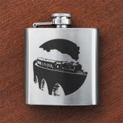 Steam Train Sporran Flask