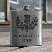 'Best Dad' 6oz Flask