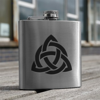 Celtic Interlace 6oz Flask