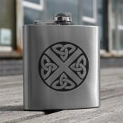 Celtic Saltire 6oz Flask