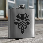 Celtic Thistle 6oz Flask