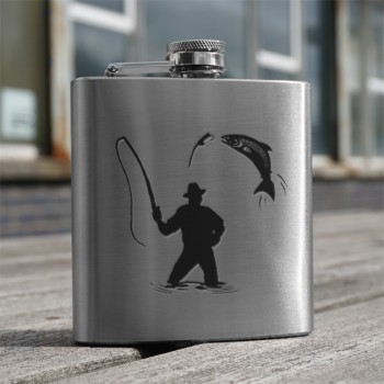 Fisherman 6oz Flask