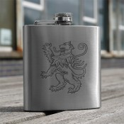 Lion Rampant 6oz Flask